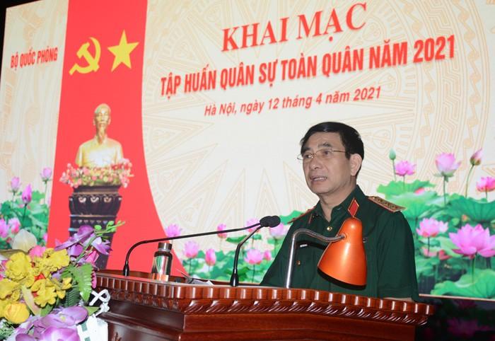 Bộ Quốc phòng tập huấn quân sự toàn quân tại Miếu Môn  - ảnh 1