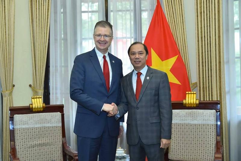 Đại sứ Mỹ: Tình cảm dành cho Việt Nam không bao giờ phai - ảnh 1