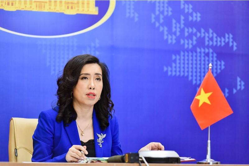 Phản đối mọi hành động xâm phạm chủ quyền của Việt Nam ở Hoàng Sa, Trường Sa - ảnh 1