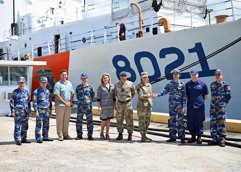 Tàu cảnh sát biển được Mỹ chuyển giao đang trên đường về Việt Nam - ảnh 1