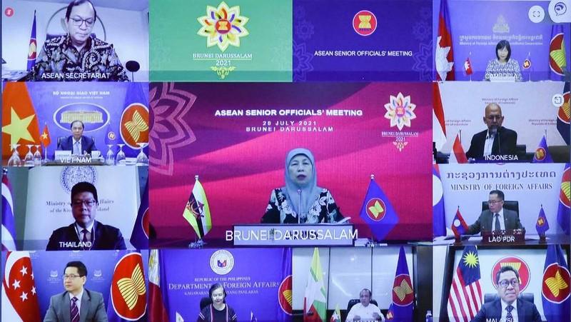 ASEAN lên phương án hợp tác ứng phó và phục hồi sau dịch  - ảnh 1