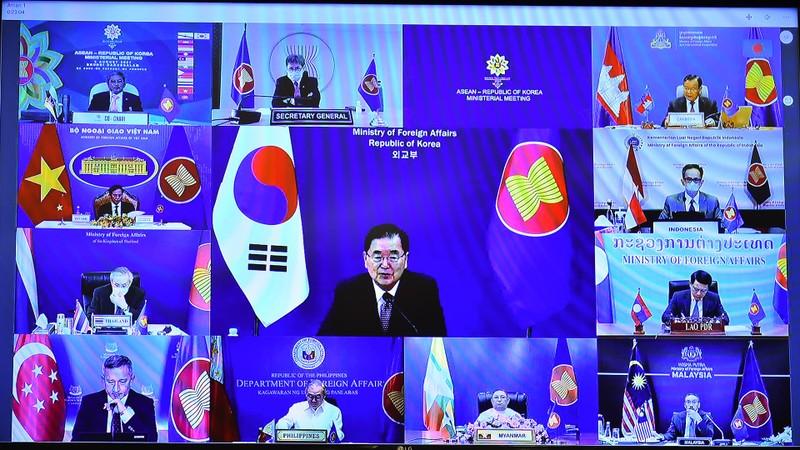 Hàn Quốc ủng hộ lập trường của ASEAN về Biển Đông - ảnh 1