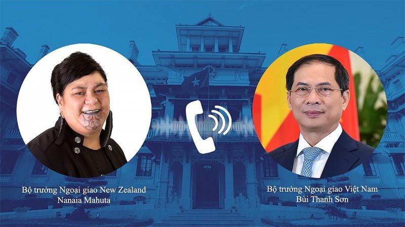 Việt Nam đề nghị New Zealand tiếp tục hỗ trợ vaccine và các thiết bị y tế - ảnh 1