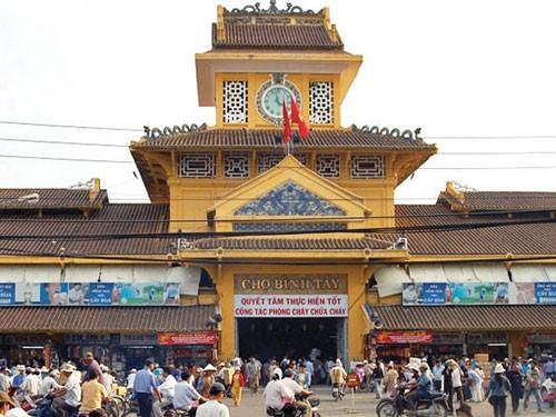 Chợ Bình Tây được xếp hạng di tích cấp thành phố - ảnh 1