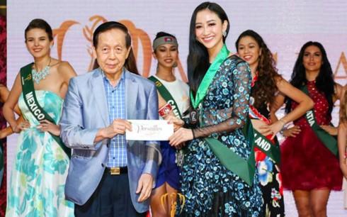 ha thu gianh huy chuong dong phan thi tai nang tai miss earth 2017 hinh 1