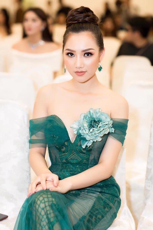 Nhan sắc gợi cảm của mỹ nhân Việt vừa đăng quang Nữ hoàng Sắc đẹp Toàn cầu - Ảnh 6.