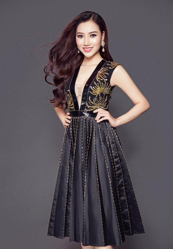 Nhan sắc gợi cảm của mỹ nhân Việt vừa đăng quang Nữ hoàng Sắc đẹp Toàn cầu - Ảnh 11.