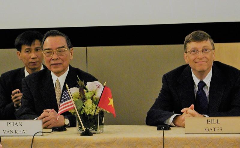 Chuyến công du đến Mỹ của Thủ tướng Phan Văn Khải - ảnh 2