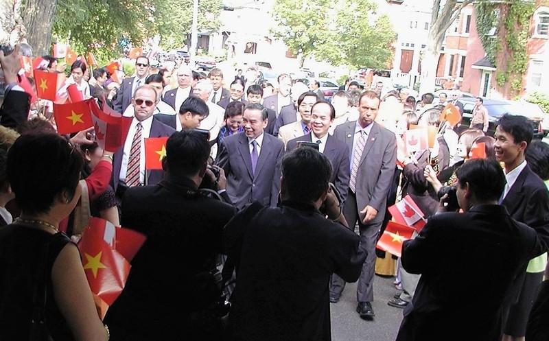 Chuyến công du đến Mỹ của Thủ tướng Phan Văn Khải - ảnh 3