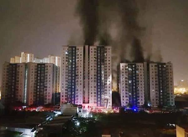 Cư dân không nghe tín hiệu báo cháy ở chung cư Carina - ảnh 3
