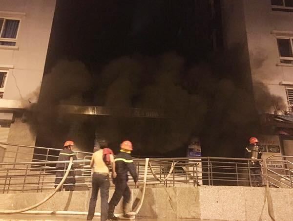 Cư dân không nghe tín hiệu báo cháy ở chung cư Carina - ảnh 2