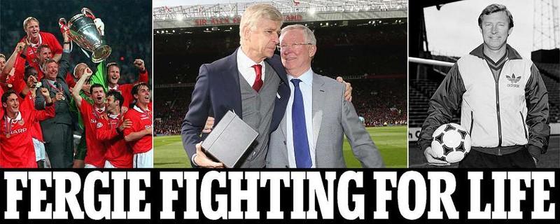 Huyền thoại Sir Alex Ferguson nguy kịch,cả thế giới cầu nguyện - ảnh 1
