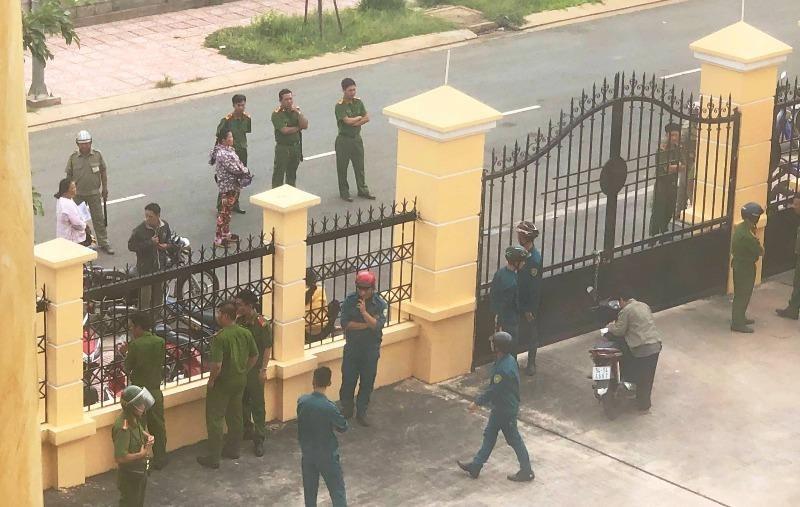 TP.HCM: Phóng viên và kiểm sát viên bị hành hung tại tòa - ảnh 1