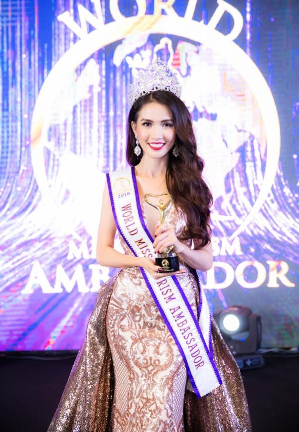 Ngắm Phan Thị Mơ - tân Hoa hậu Đại sứ du lịch thế giới  - ảnh 1