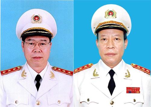 Hai thượng tướng công an làm thủ trưởng hai cơ quan điều tra  - ảnh 1