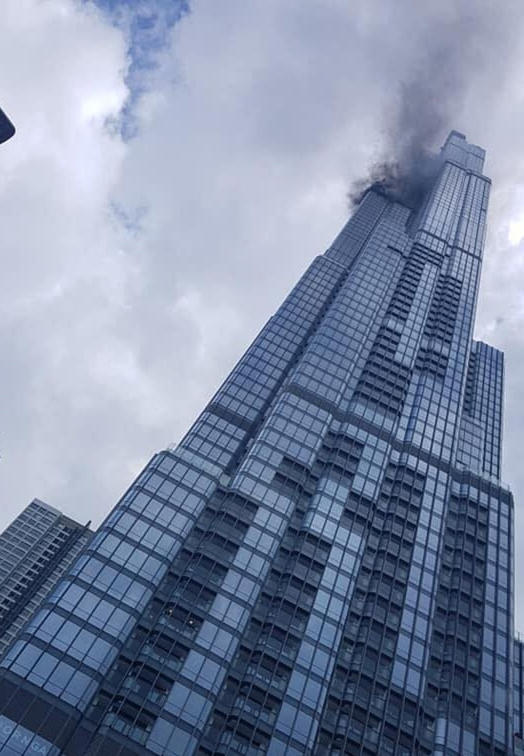 Nguyên nhân gây cháy ở tòa nhà Landmark 81 - ảnh 1