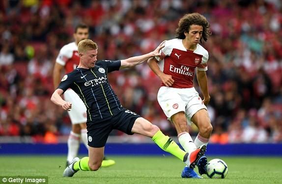 'Pháo thủ' tịt ngòi, thua 'sấp mặt' Man City ngay tại Emirates - ảnh 3