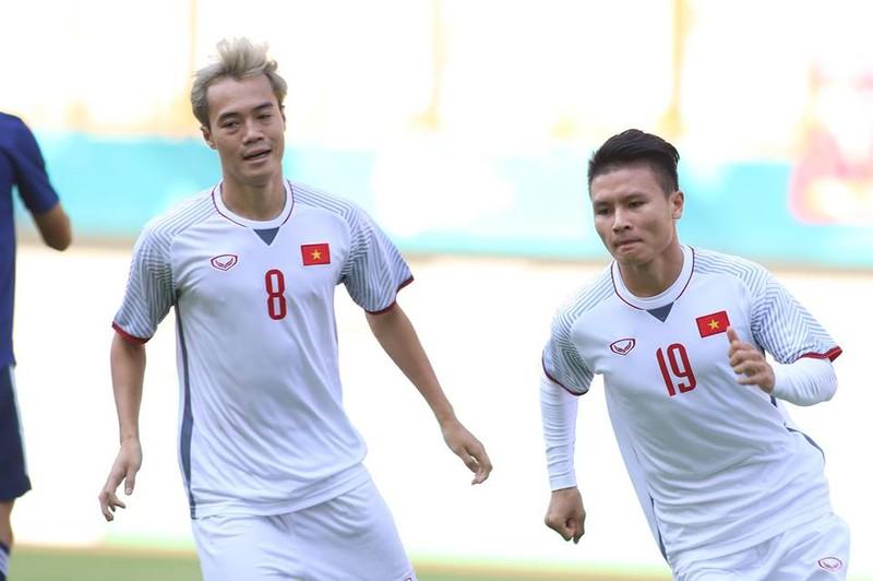 Thắng Nhật Bản, Olympic Việt Nam đi tiếp với ngôi đầu bảng - ảnh 26