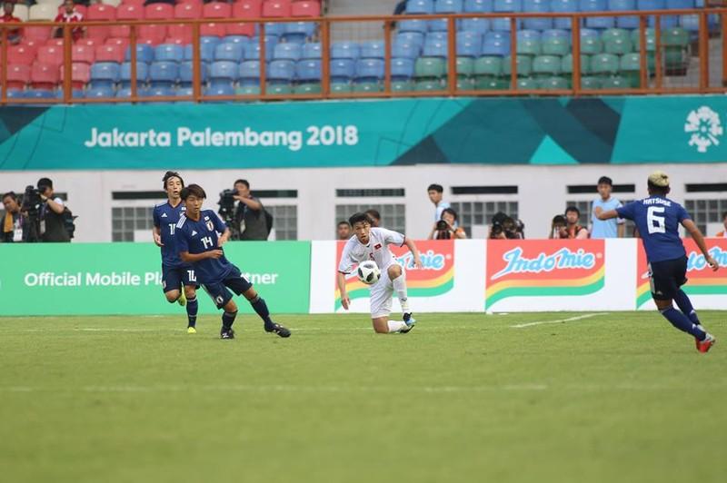 Thắng Nhật Bản, Olympic Việt Nam đi tiếp với ngôi đầu bảng - ảnh 12
