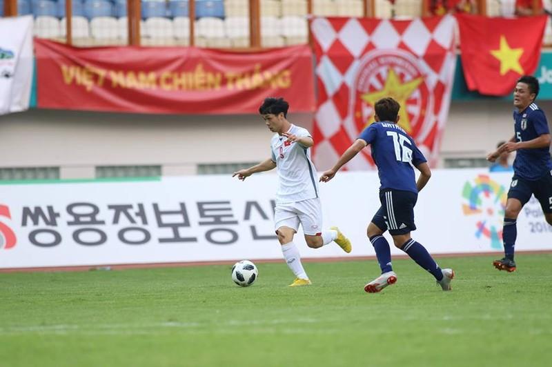 Thắng Nhật Bản, Olympic Việt Nam đi tiếp với ngôi đầu bảng - ảnh 1