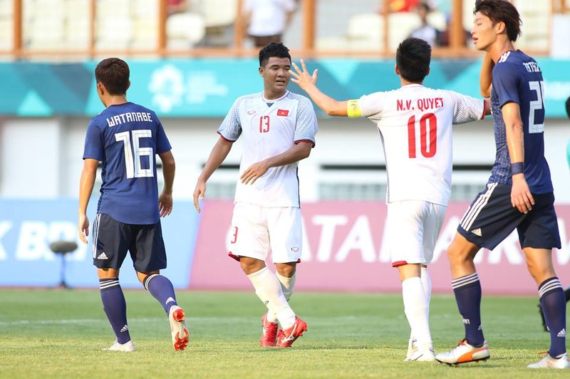 Thắng Nhật Bản, Olympic Việt Nam đi tiếp với ngôi đầu bảng - ảnh 16