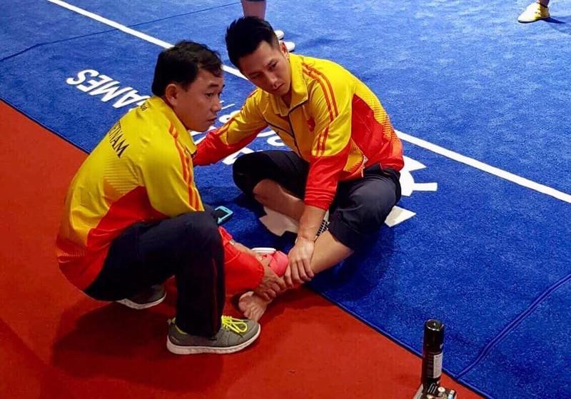 Wushu khởi đầu gian nan ở Asiad: Xuân Hiệp bất ngờ chấn thương - ảnh 2