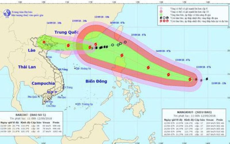 Quảng Ninh ra công điện khẩn ứng phó với bão số 5 - ảnh 1