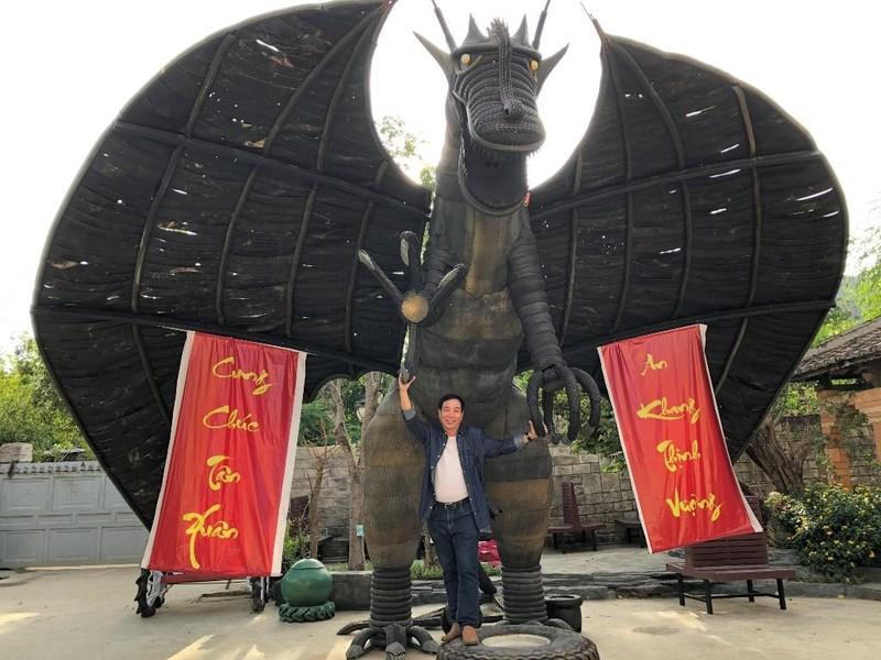 Ngỡ ngàng công viên lốp của 'phù thủy' Nguyễn Văn Phúng - ảnh 9