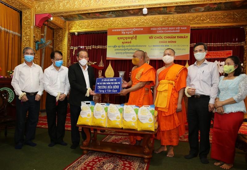 Phó Thủ tướng chúc mừng tết cổ truyền Chôl Chnăm Thmây - ảnh 2
