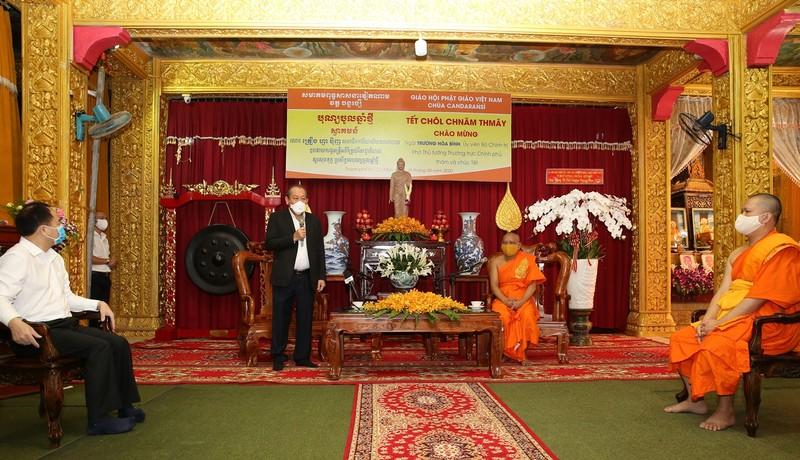 Phó Thủ tướng chúc mừng tết cổ truyền Chôl Chnăm Thmây - ảnh 1