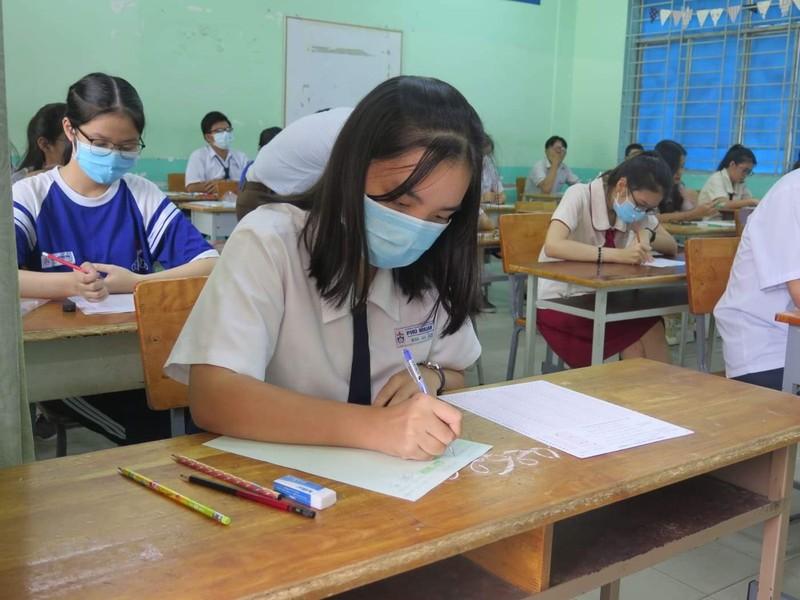 Kỳ thi THPT 2020: Thí sinh ung dung bước vào môn thi cuối - ảnh 6