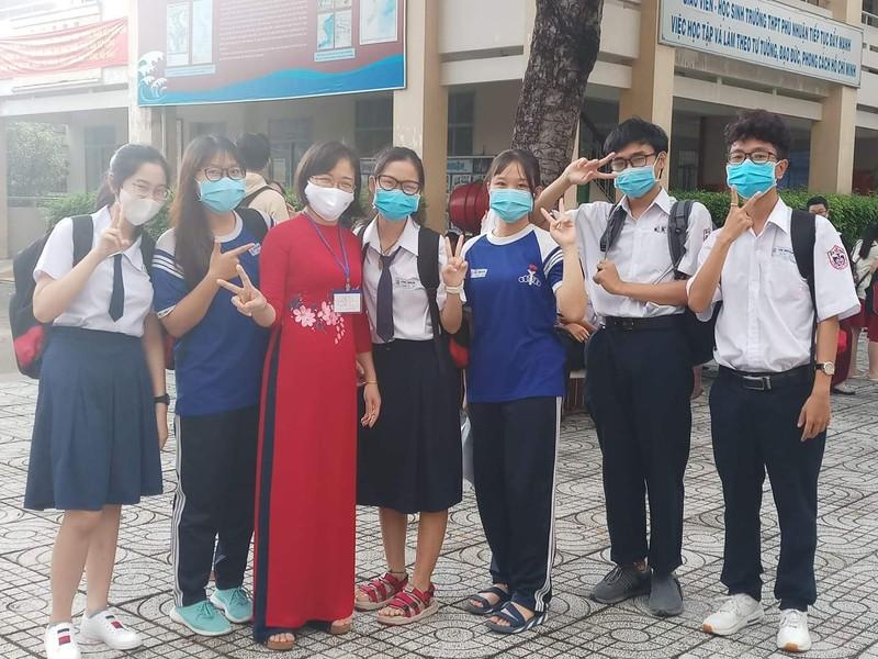 Sáng nay, 10-8, thí sinh dự thi bài thi KHTN và KHXH  - ảnh 3