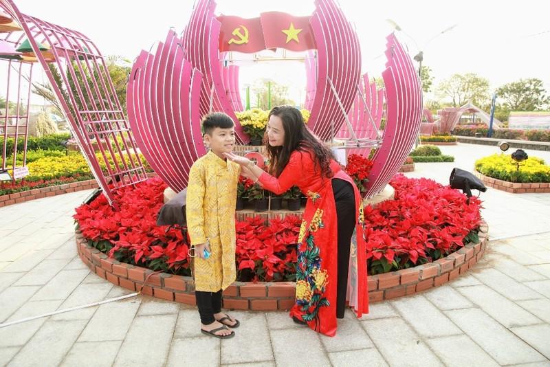 Ngắm vườn hoa xuân Tân Sửu 2021 đặc sắc tại Ninh Thuận - ảnh 5