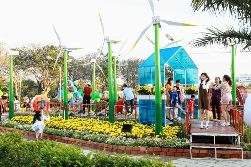 Ngắm vườn hoa xuân Tân Sửu 2021 đặc sắc tại Ninh Thuận - ảnh 7