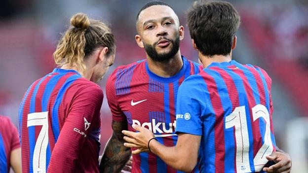 Tân binh Depay tiếp tục ghi bàn trong chiến thắng 3 sao của Barca - ảnh 1