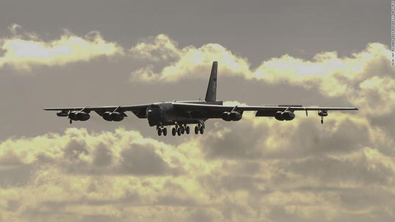 Pháo đài bay B-52 của Mỹ lại đến biển Đông - ảnh 1