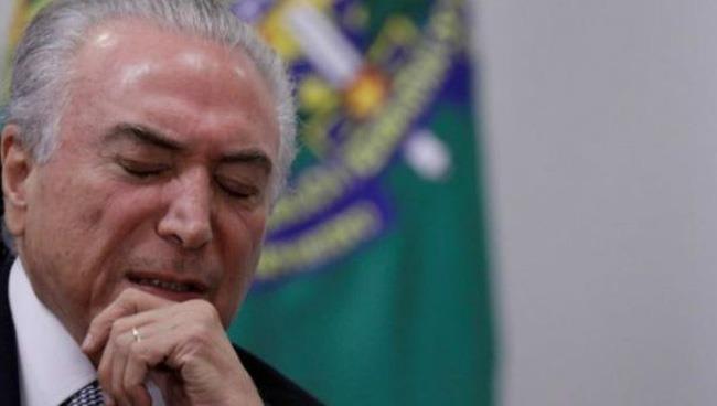 Thêm một cựu tổng thống Brazil bị bắt vì tham nhũng - ảnh 1