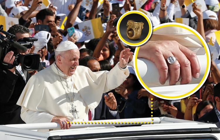 Giáo hoàng Francis đã cho phép tín đồ hôn lên nhẫn ngài - ảnh 2