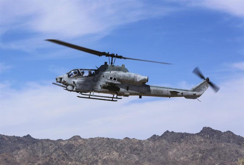 Hai phi công Mỹ tử vong trong tai nạn trực thăng - ảnh 2