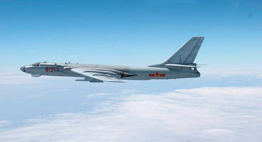 Oanh tạc cơ Mỹ và Trung Quốc 'vần vũ' bầu trời Tây TBD - ảnh 1