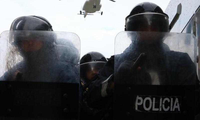Albania: Cướp lượng lớn tiền mặt khi máy bay sắp cất cánh - ảnh 2