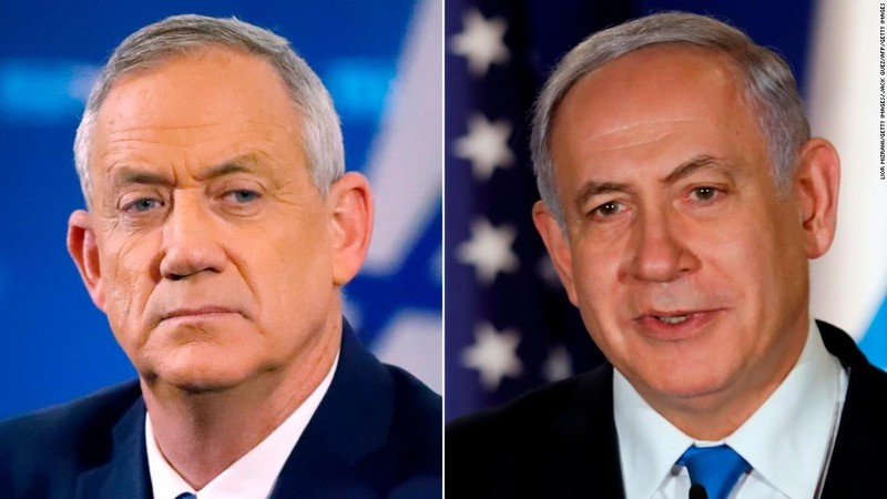 Ông Netanyahu và phe đối lập đều tuyên bố thắng cử - ảnh 1