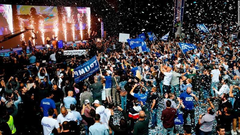 Israel: Ông Netanyahu thắng cử nhiệm kỳ thứ 5 - ảnh 1