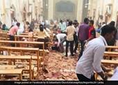 Nổ liên tiếp ở nhà thờ Sri Lanka làm hơn 80 người bị thương - ảnh 1