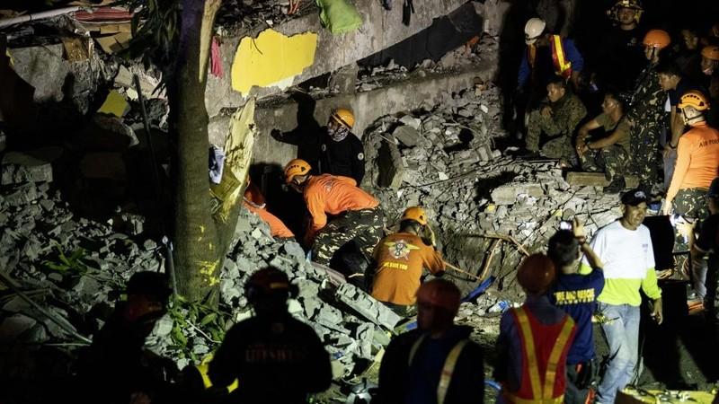 Động đất liên tiếp ở Philippines làm ít nhất 11 người chết - ảnh 2