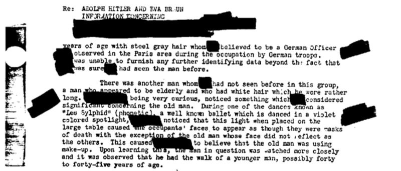 Tài liệu mật FBI: Hitler có thực sự tự sát? - ảnh 2