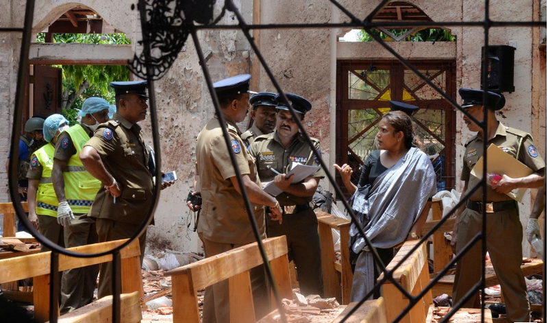 Cảnh sát trưởng Sri Lanka kiên quyết không từ chức  - ảnh 1
