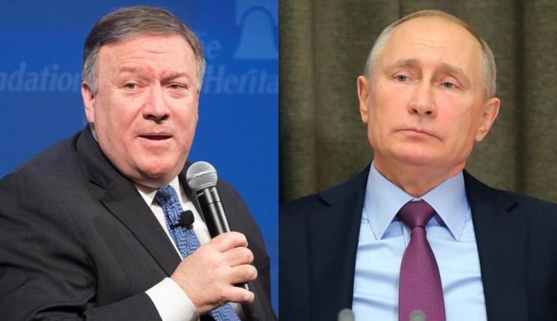 Ông Pompeo và Putin gặp nhau bàn về bất đồng Mỹ-Nga - ảnh 1