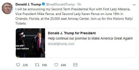 Ông Trump tiếp tục tranh cử khốc liệt cho nhiệm kỳ thứ 2 - ảnh 1