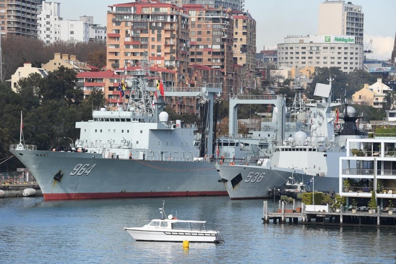 Thấy gì từ việc TQ cập cảng 3 tàu chiến tại Úc? - ảnh 1